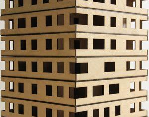 nine-story Stadthaus